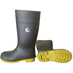 CE Steel Toe Puncture Proof Pvc Safety Rain Gumboots