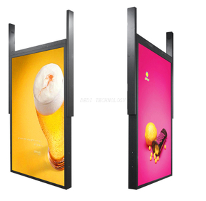 DEDI LCD display 49Inch Double Sided Semi Outdoor AD Player
