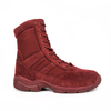 Zipper red men desert boots 7264