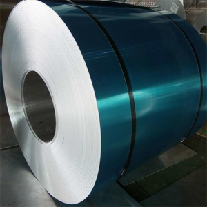 Natural appearance of aluminum coils 3003 H14 with blue firm