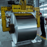 1100mm-1300mm Width Mill Finish Aluminum Coils for Coating