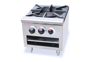 HGR-1 strong flame heavy duty gas range gas stove