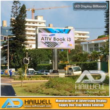 Outdoor Digital LED Screen Advertising Unipole Billboard