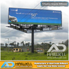 Hot-DIP Galvanized Three Sided Advertising Billboard Structure