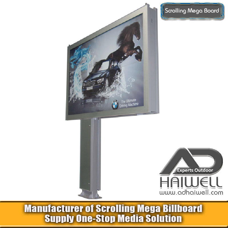 Classics Scrolling Mega Board Backlit LED Light Box Billboard