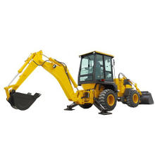 Articulated Backhoe Loader