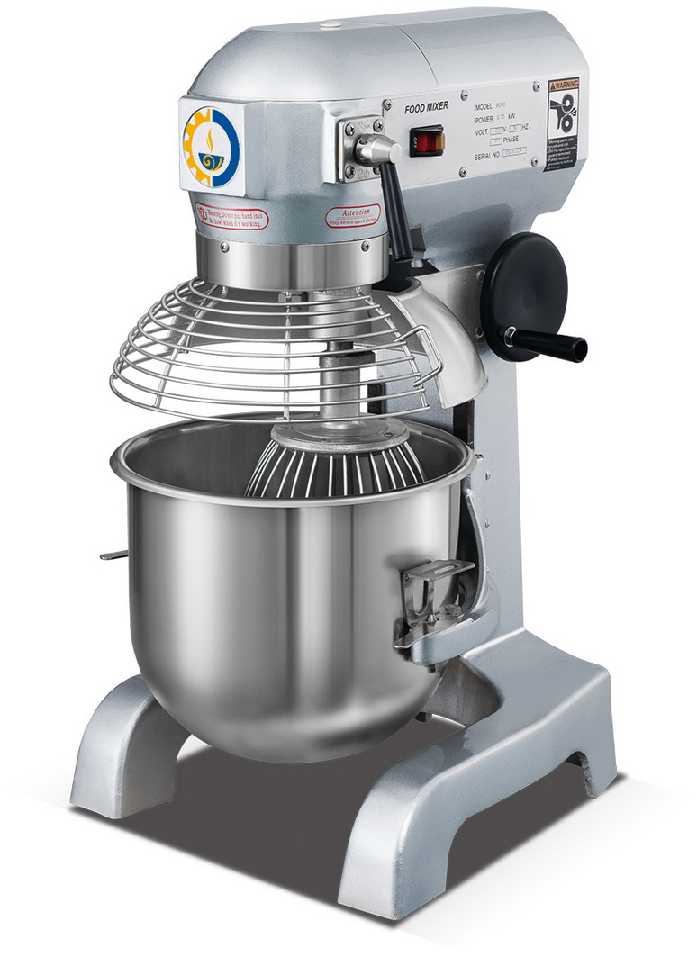 Zb20b Soncap Approval 20l Flour Spiral Cake Mixer For