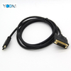 High Quality Micro HDMI To DVI 24+1 Male To Male