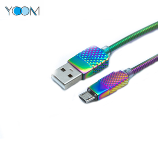 Unique Style Spring USB Cable for Micro