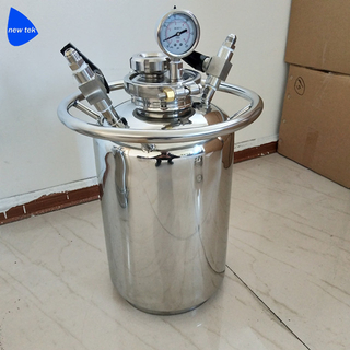Sanitary Stainless Steel Solvent Recovery Tank