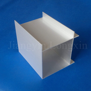 Anodized Square Aluminium Profile for Construction