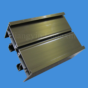 Brown Electrophoresised Aluminium Extrusion for Windows