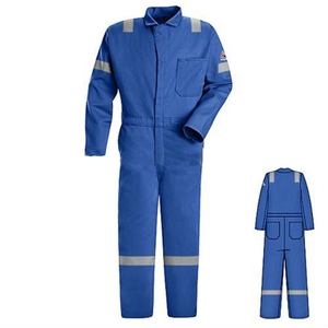 Flame retardant safety working coverall for men