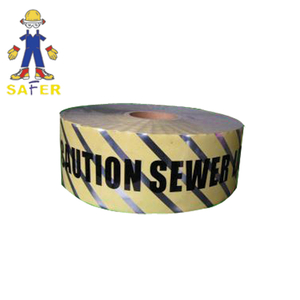 caution tape made of pe