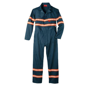 Men's Reflective Flame Resistant Safety Summer Coverall