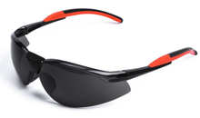 Black PC lens PU arm safety goggles glasses