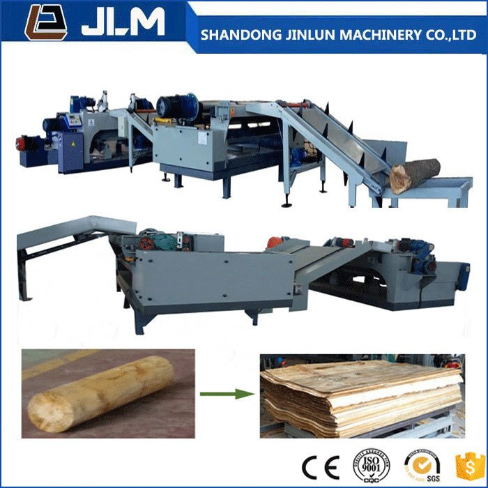 2600mm 8 feet Spindle-less Core Veneer Peeling Production Line