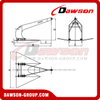 Marine Double Shank Anchor / Stingray High Holding Power Anchor Type B