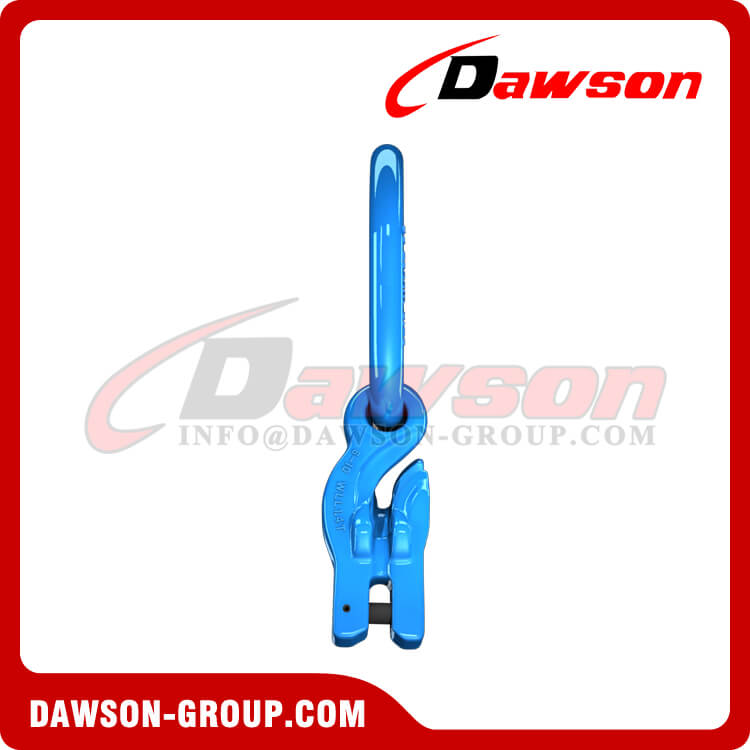 DS1067 G100 Forged Master Link + G100 Eye Grab Hook with Clevis Attachment for Adjust Chain Length × 2