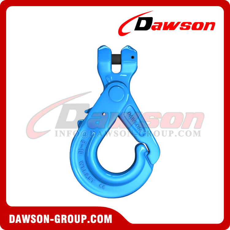 G100 Special Clevis Self-locking Hook with Grip - Dawson Group Ltd. - China Supplier