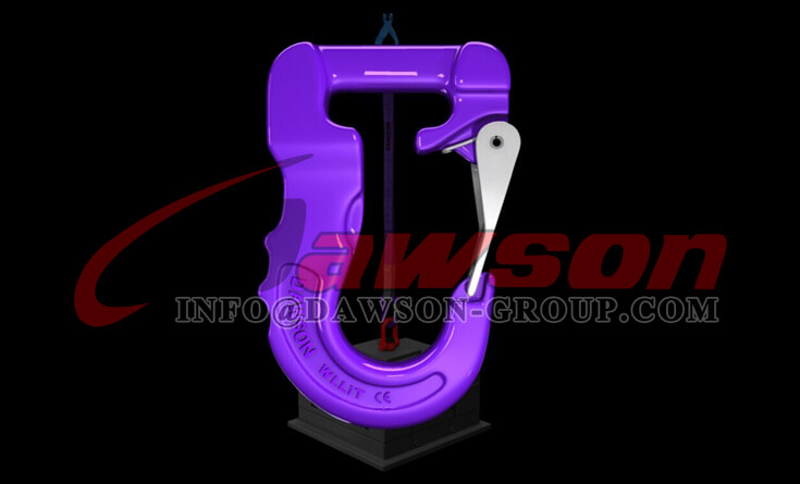 Application of G100 Web Sling Hook, Synthetic Alloy Round Sling Hook - Dawson Group Ltd. - China Supplier