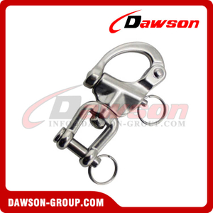 Stainless steel Swivel snap shackle(jaw end)