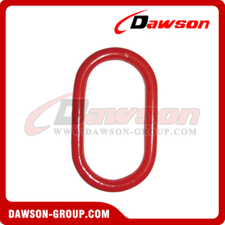 DS481 G80 Forged Alloy Steel Master Link for Chain / Wire Rope Slings