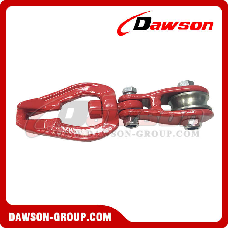 DS930 G80 Swivel Connecor with Roller Sheave for Forestry Logging - China Manufacturer