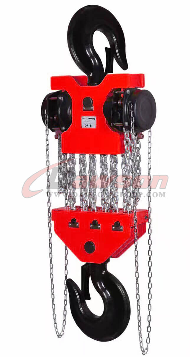DS-DF-B 20T,30T Chain Hoist, Chain Block - China Supplier, Factory