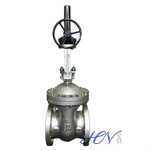 Stainless Steel Flanged Gear Operated Flexible Wedge Gate Valve