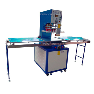 Shuttle Tray 8KW High Frequency Welding Machine for PVC Carpets, PVC Coil Mats