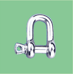 S/S COMMERCIAL BOW SHACKLE