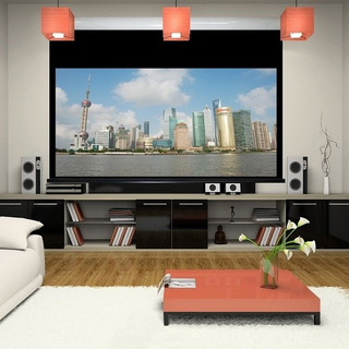 "HD 16:9 150"" Cinema Motorized Projection Screen"