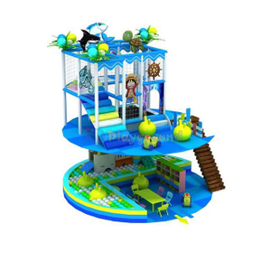 Customized Ocean Theme Kids Soft Small Indoor Playground Set