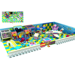 Ocean Theme Amusement Kids Soft Indoor Playground Equipment