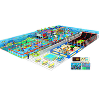 Large Family Entertainment Center Kids Indoor Playground Equipment