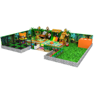 Jungle Gym Adventure Soft Indoor Amusement Park with Trampoline