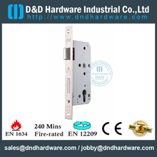 Fechadura da porta avaliado do fogo do Mortise do Euro SUS304 para a porta do metal com CE Certificate-DDML009