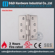 DDSS001-4x3x3.0mm-SUS304 Fire Rated UL Ball Bearing Hinge for Hollow Metal Door