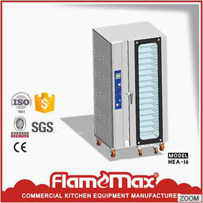 Horno de convección de gas industrial HGA-16 en China