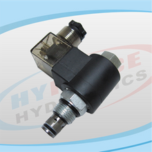 SV08-23 Series (2-Way, 2-Position, Poppet Type, Normally Open) Reverse Flow De-energized