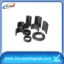 Customized Arc Ferrite Magnet for motor
