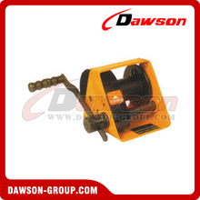 DSHW-A TYPE 250kg-1000kg Worm Gear Hand Lifting Winch with CE Certificate