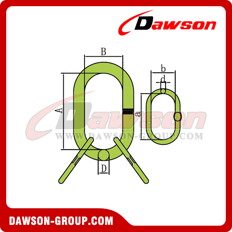 DS1015 G100 Master Link Assembly - DAWSON GROUP LTD. - CHINA MANUFACTURER, SUPPLIER, FACTORY