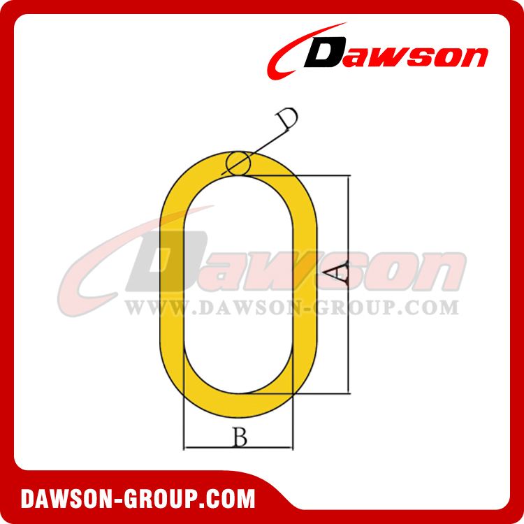 DS033-G80 EUROPEAN TYPE MASTER LINK - DAWSON GROUP LTD. - CHINA MANUFACTURER