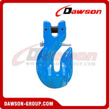 G100 / Grade 100 Special Clevis Grab Hook With Safety Pin for Chain Slings