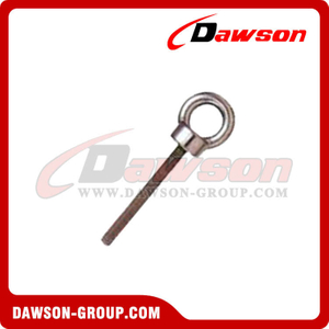 Shoulder Eye Bolt With Washer And Nut - Stainless