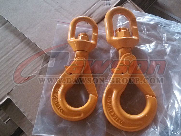 G80 eye swivel selflock hook - Dawson Group Ltd. - China Factory