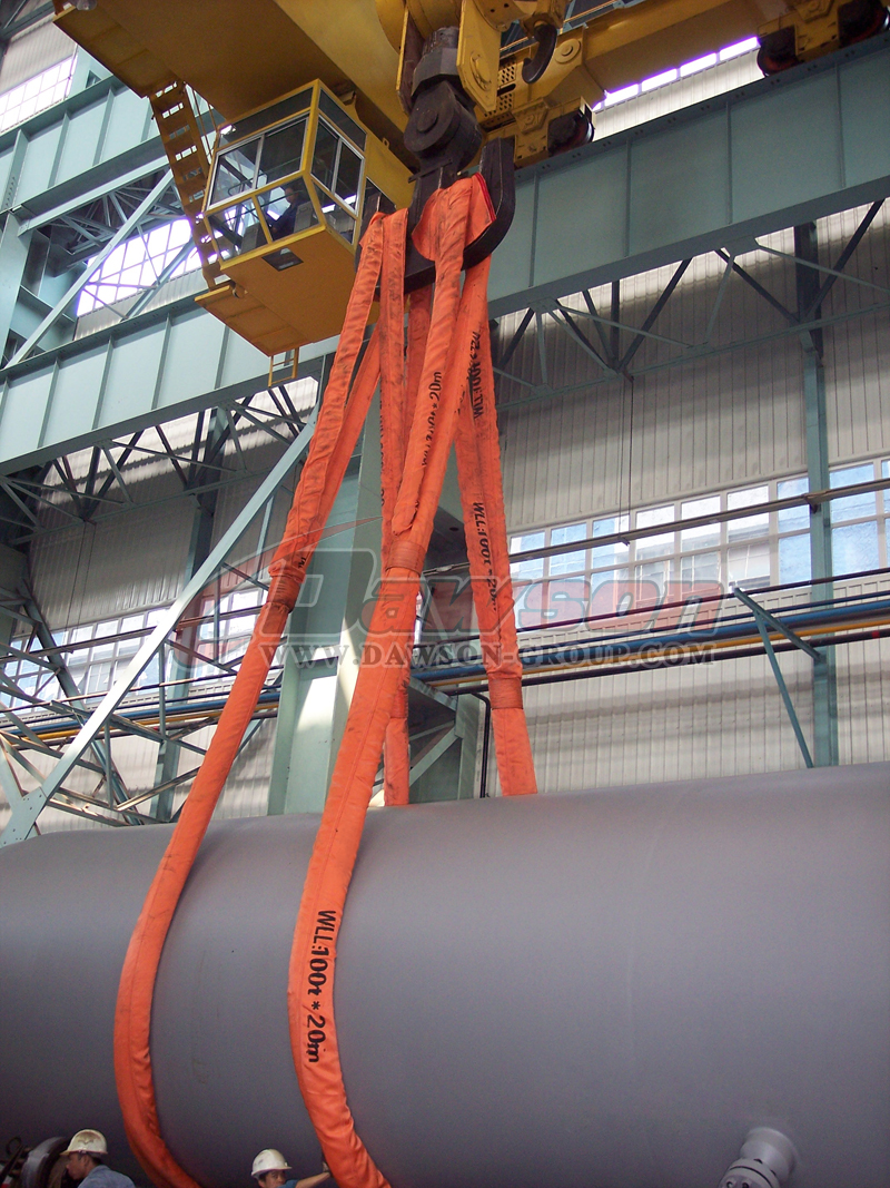 CHINA HEAVY DUTY ROUND SLINGS DAWSON GROUP SUPPLIER, FACTORY