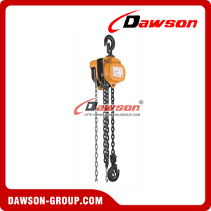 0.5T - 20T Manual Chain Block Chain Hoist for Installing of Machinery